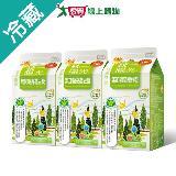 統一陽光無加糖高纖豆漿450ml*3入