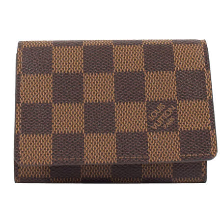 Louis Vuitton LV N62920《人氣款》Damier 棋盤格紋名片夾_預購