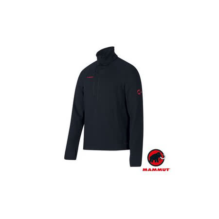 【瑞士 MAMMUT 長毛象】Aconcagua Pull 專業級 男超強抗磨快乾彈性保暖上衣(Polartec Power Stretch)中層排汗衣.抗風透氣刷毛衣/ 01260