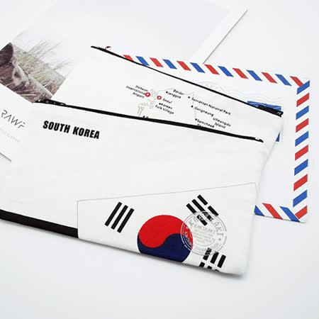《Kakikaki》韓國 國旗收納袋