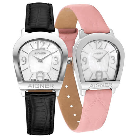 AIGNER 愛格納優雅時尚腕錶 A32268B