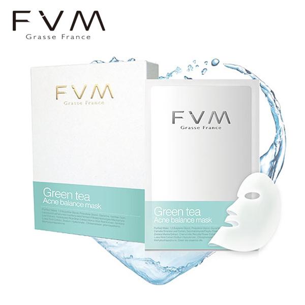 ~法國FVM法菲曼~綠茶淨荳平衡面膜