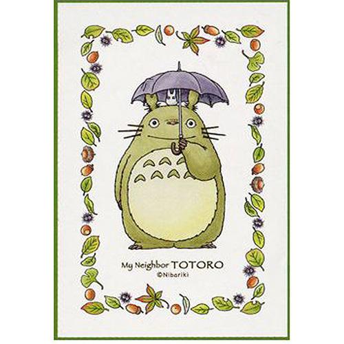 【宫崎骏系列拚图】龙猫系列-龙猫撑伞