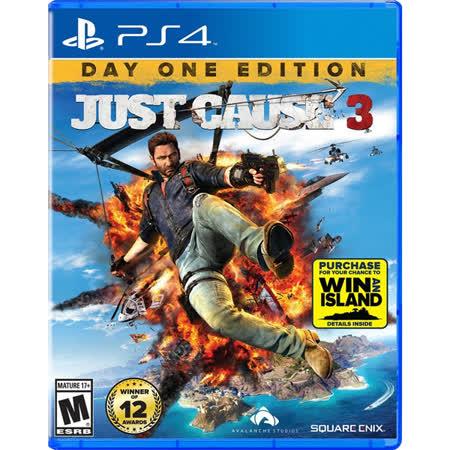 普雷伊 PS4 正當防衛 3 亞洲英文版