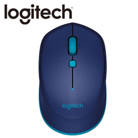 Logitech 羅技M337藍芽滑鼠(藍)