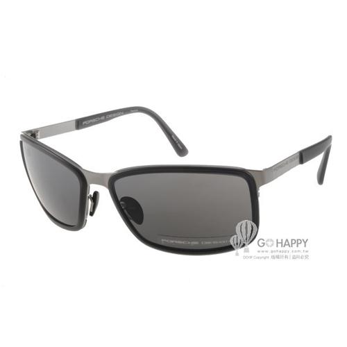 Porsche Design太陽眼鏡 鈦合金系列水銀鏡面款(銀) #PO8552 B