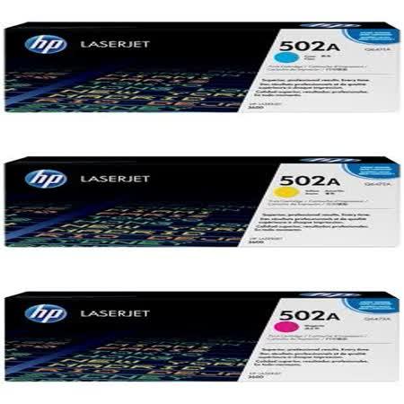 HP Q6471A(藍)/Q6472A(黃)/Q6473A(洋紅)/501A 原廠碳粉匣