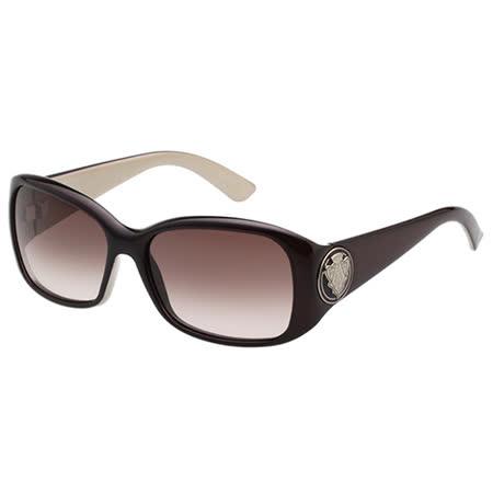 GUCCI 時尚太陽眼鏡(咖啡色GG-HXX)