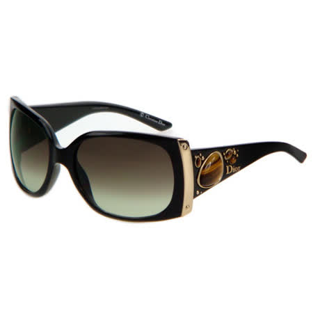 Dior 時尚太陽眼鏡 (黑色CD-D28)