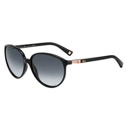 Dior-時尚太陽眼鏡(黑色)