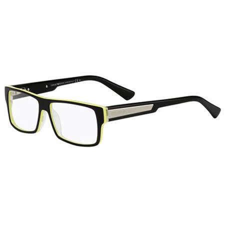 ARMANI-時尚光學眼鏡(黑色)EA9597