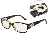 Dior-時尚光學眼鏡(琥珀色)
