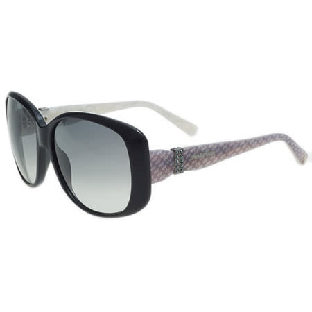 SWAROVSKI-時尚太陽眼鏡(黑色)SW12
