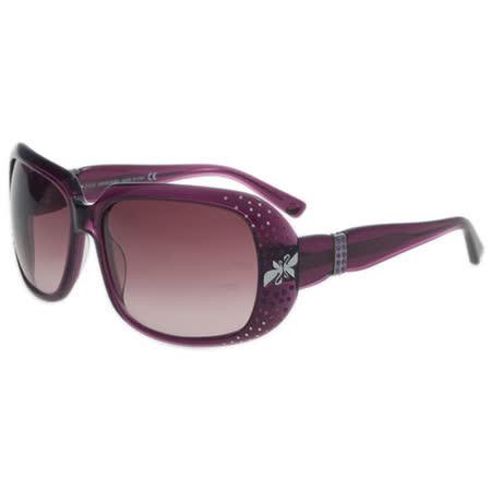 SWAROVSKI-時尚太陽眼鏡(紫色)SW13