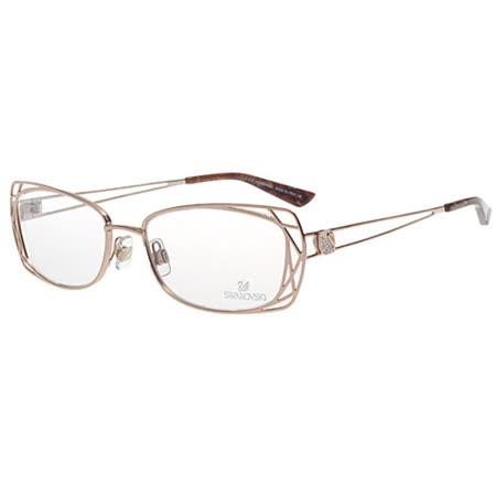 SWAROVSKI-時尚光學眼鏡(金色)SW5005