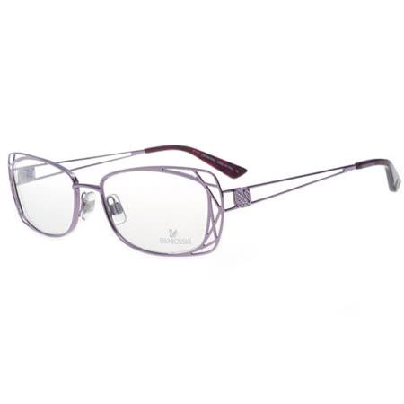 SWAROVSKI-時尚光學眼鏡(紫色)SW5005