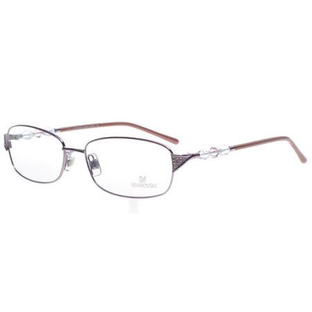 SWAROVSKI-時尚光學眼鏡(紫色)SW5008