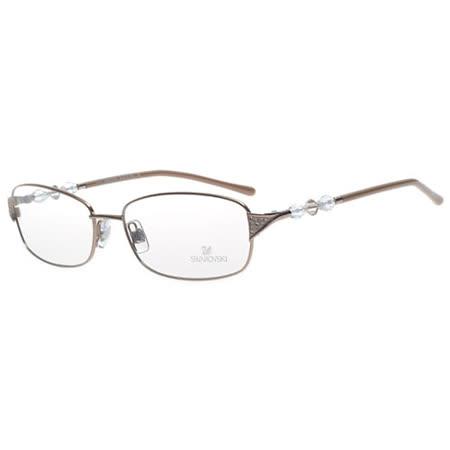 SWAROVSKI-時尚光學眼鏡(咖啡色)SW5008