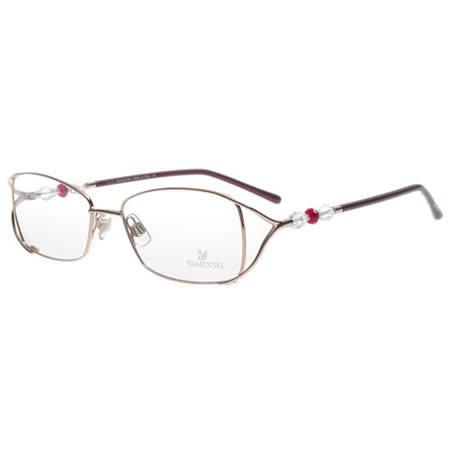 SWAROVSKI-時尚光學眼鏡(金色)SW5009