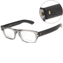 YSL-時尚光學眼鏡 (透明灰色)