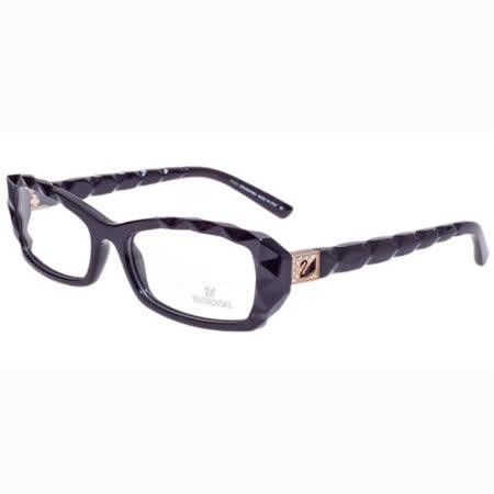 SWAROVSKI-時尚光學眼鏡(黑色)SW5007