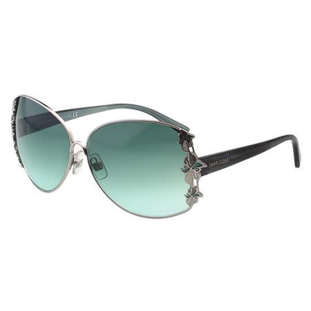 SWAROVSKI-時尚太陽眼鏡(銀色)SW10