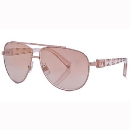 SWAROVSKI-時尚太陽眼鏡(粉色)SW3