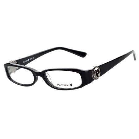 PLAYBOY-時尚光學眼鏡 (黑色)PB85152