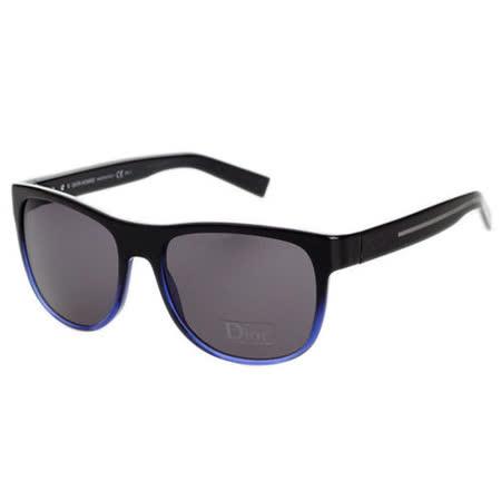 Dior Home-時尚太陽眼鏡(黑配藍)