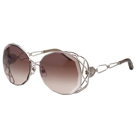 SWAROVSKI-時尚太陽眼鏡(銀色)SW21