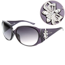 Dior-時尚太陽眼鏡(紫色/紅色/琥珀色/黑色)