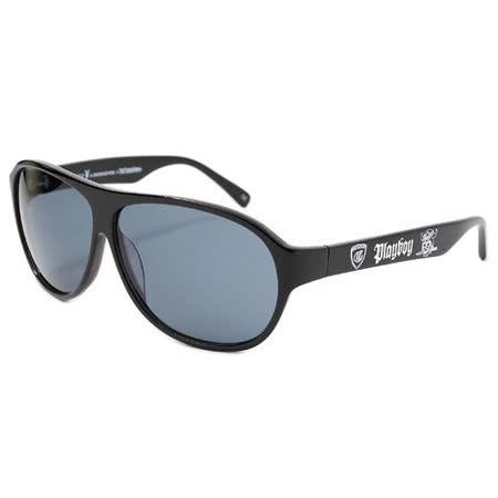 PLAYBOY-時尚太陽眼鏡(黑色)PT01