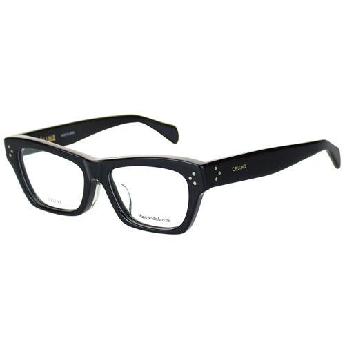 CELINE-時尚光學眼鏡(黑色/米白色)