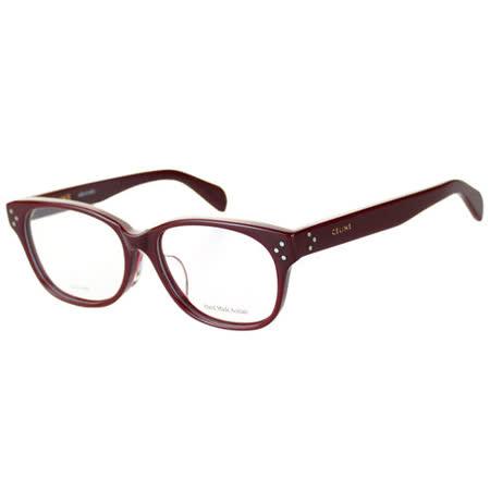 【私心大推】gohappy 購物網CELINE-時尚光學眼鏡(紅色/寶藍色)價格愛 買 happy go