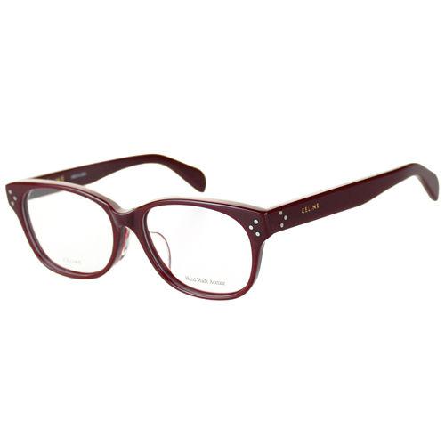 CELINE-時尚光學眼鏡(紅色/寶藍色)