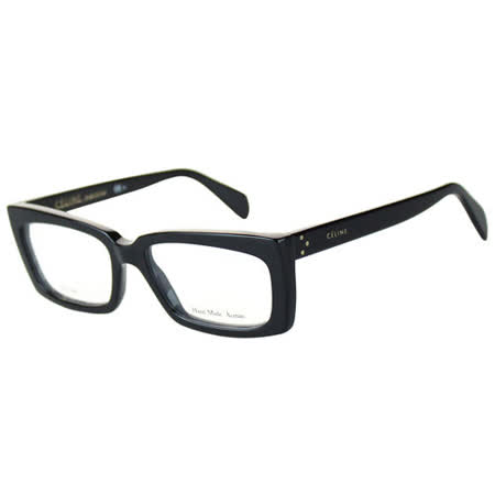 CELINE-時尚光學眼鏡(黑色/寶藍色)