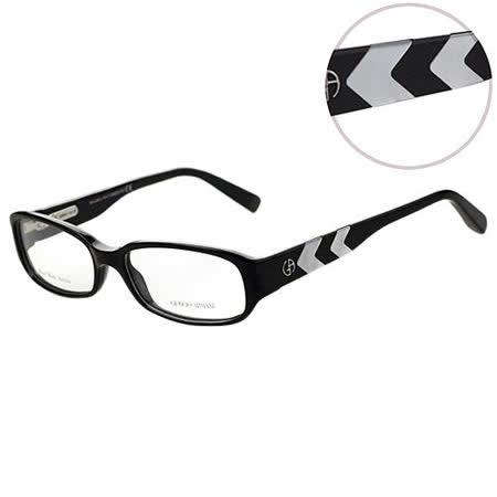 GIORGIO ARMANI -時尚光學眼鏡(黑色)