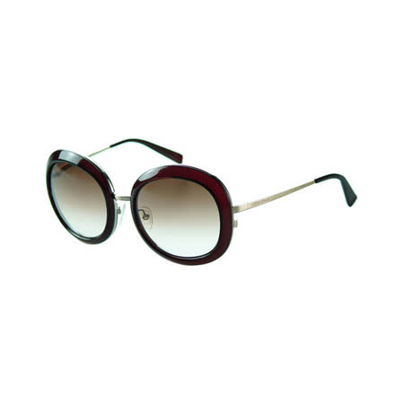 GIORGIO ARMANI -時尚太陽眼鏡(咖啡紅)