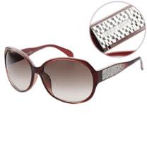 GIORGIO ARMANI-時尚太陽眼鏡(紅色/黑色)