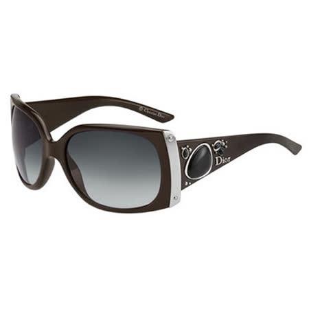Dior-時尚太陽眼鏡(黑色/咖啡色)