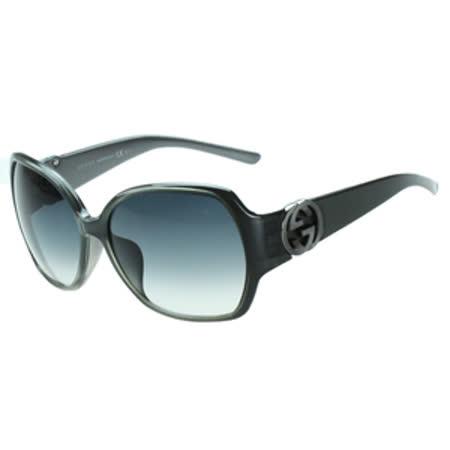 GUCCI-時尚太陽眼鏡(灰黑色)