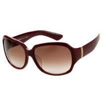 YSL-時尚太陽眼鏡 (紅色/黑色)