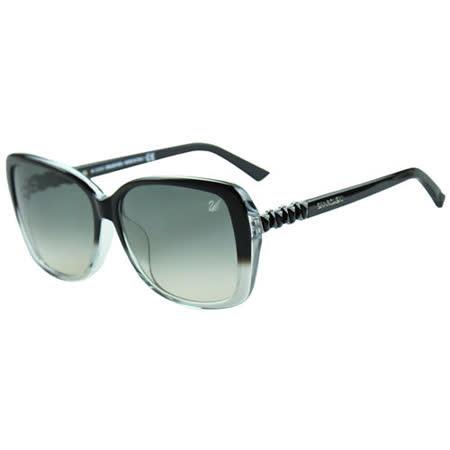 SWAROVSKI-時尚太陽眼鏡(漸層黑)SW9030