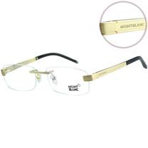萬寶龍 MONTBLANC-時尚光學眼鏡(金色/銀色)MB305