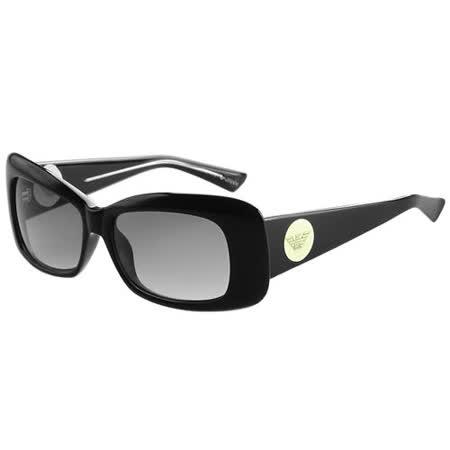 ARMANI-時尚太陽眼鏡(黑色/透明)