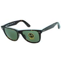 RAY BAN太陽眼鏡-RB2140F(黑色/琥珀色)大面