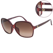 GUCCI-時尚太陽眼鏡(共3色)