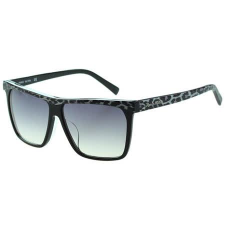 Paris Hilton派瑞絲希爾頓-時尚太陽眼鏡(黑色+豹紋)