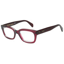 CELINE-時尚光學眼鏡(黑色/紫紅色)