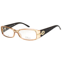Dior-時尚光學眼鏡(茶色)